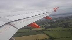 Easyjet Airbus A319-111 G-EZAC, EZY6783 RWY25 departure Belfast int'l