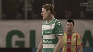 embeded bvideo Simulación #FIFA19 Santos vs Morelia