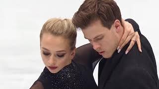 Российские фигуристы Виктория Синицина и Никита Кацалапов Ритм танец на чемпионате мира 2019 года
