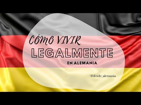 Cómo vivir legal en Alemania -
