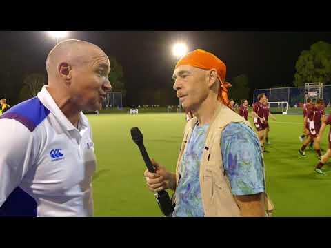 Gordon Shepherd Post match comments. Scotland ladies 3 beat Queensland 0.