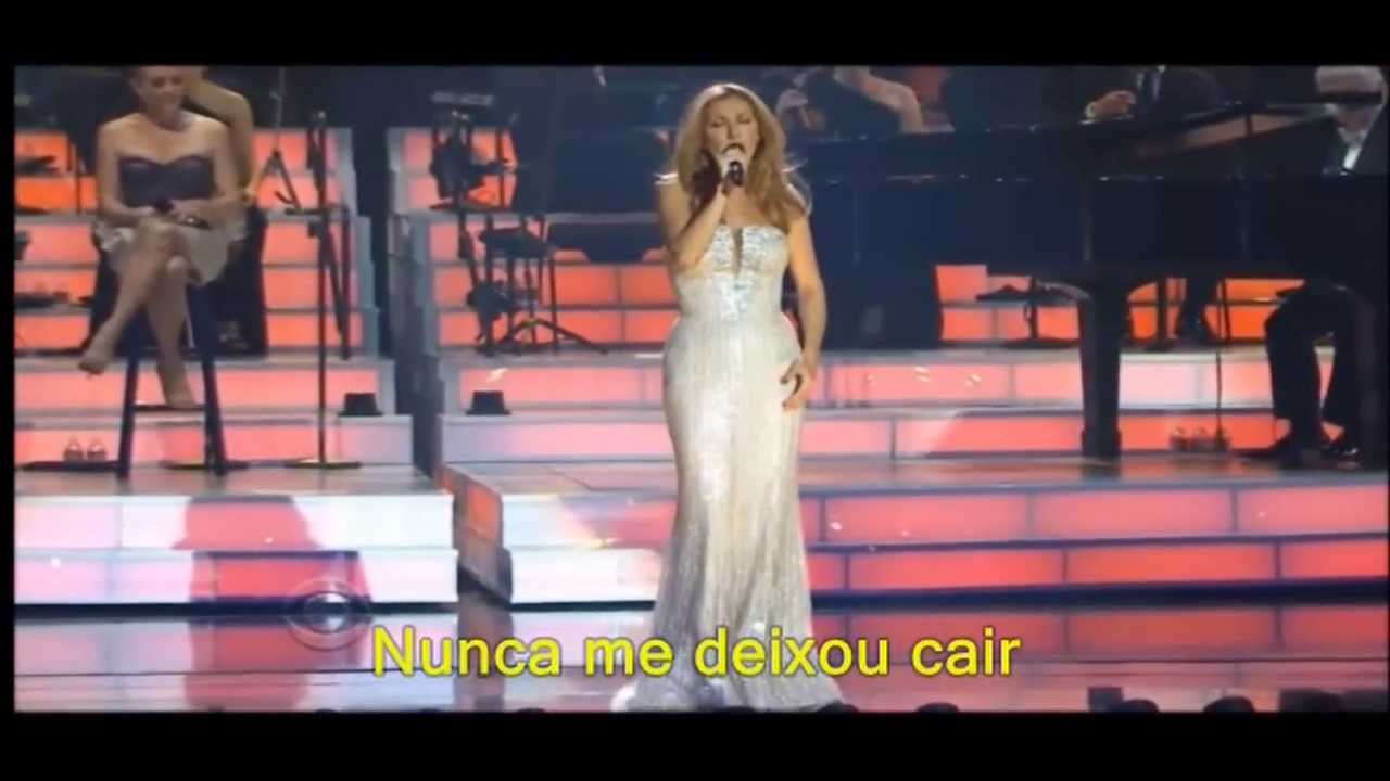 musica da celine dion because you loved me