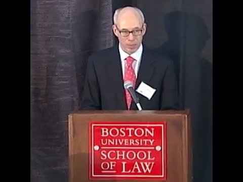 Clayton Gillette Delivers Keynote at Boston University School of Law's Municipal Financing Symposium