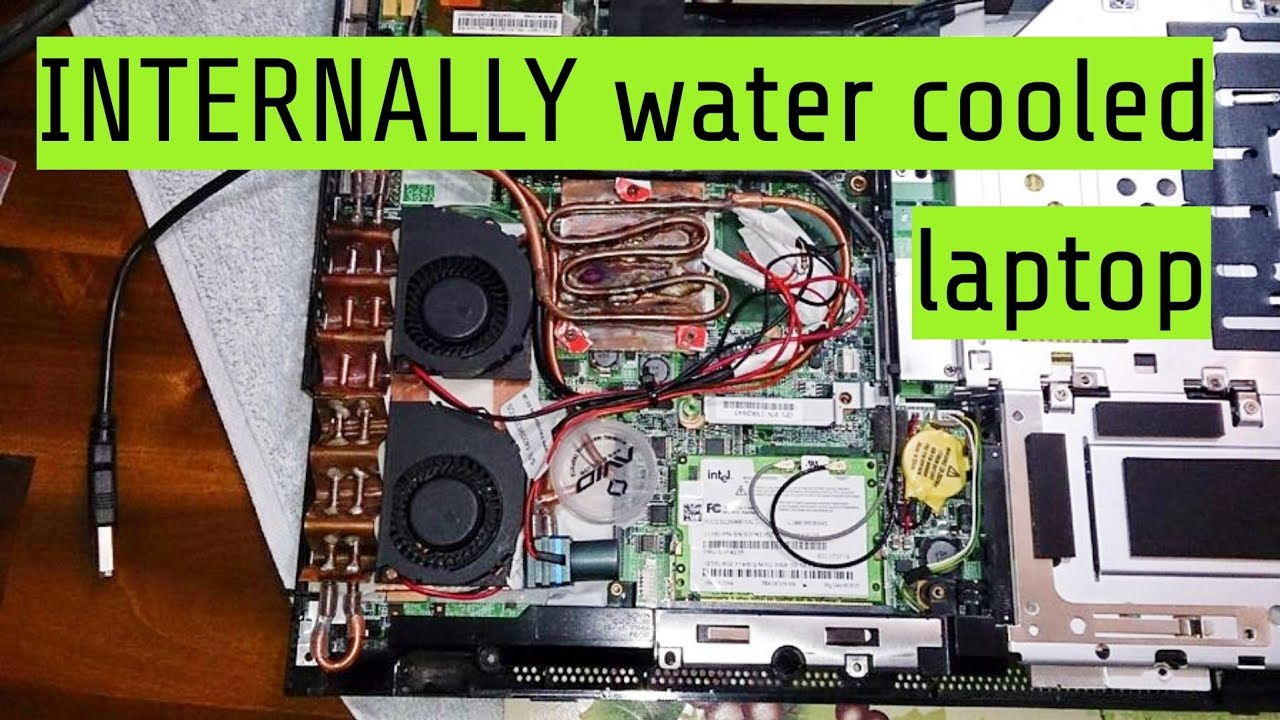 how to clean laptop internally
