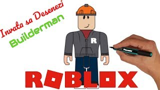 🕹️ ROBLOX Romania-Draw and color Builderman-games for kids