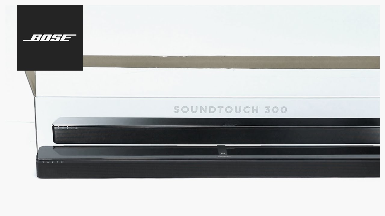 Bose Soundtouch 300 Unboxing Setup Youtube Link Cable Wiring Diagram