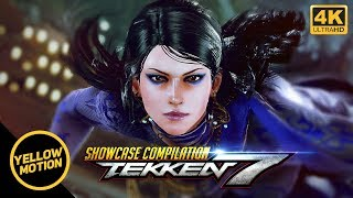 TEKKEN 7 Zafina Unique Outfits Showcase Compilation With Intro / Win Poses & Rage Arts [4K]