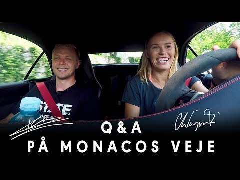CARPOOL: Kevin Magnussen & Caroline Wozniacki! 🚗🔥💪🏻  |  STATE TV