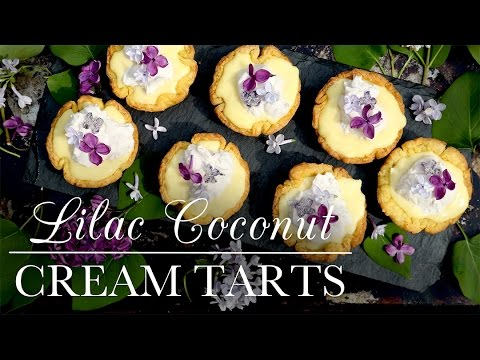 Lilac Coconut Cream Tarts | Kitchen Vignettes | PBS Food