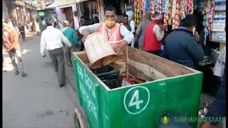 Garbage collection from commercial area SVM 2
