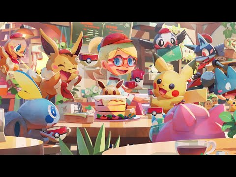¡Marchando una de Pokémon Café Mix!