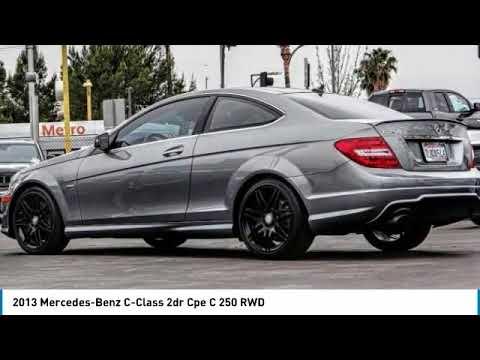 2013 Mercedes-Benz C-Class VAN NUYS LOS ANGELES SAN FERNANDO VALENCIA CANOGA PARK UC052961T