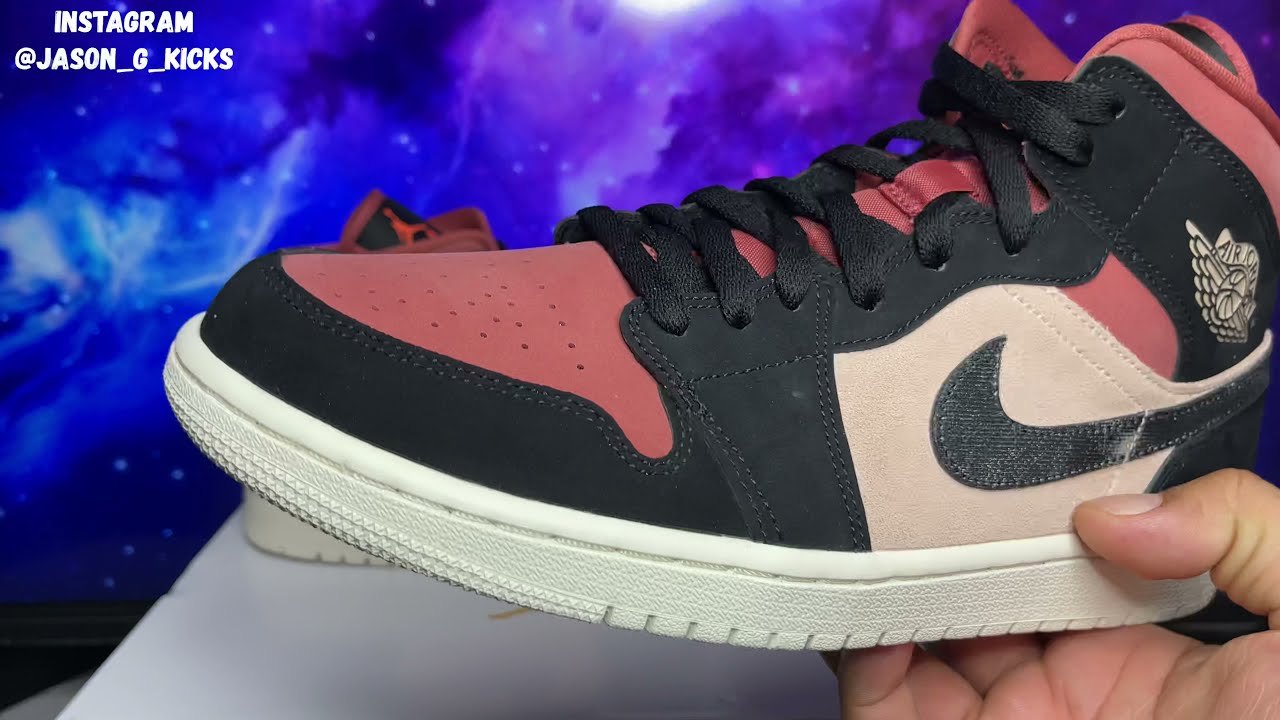 Jordan 1 Mid Canyon Rust - Review and On Feet - Most Beautiful Jordan 1 Mid Of The Year ????
