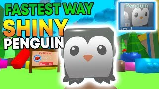 HOW TO GET THE SHINY PENGUIN IN ROBLOX BUBBLE GUM SIMULATOR