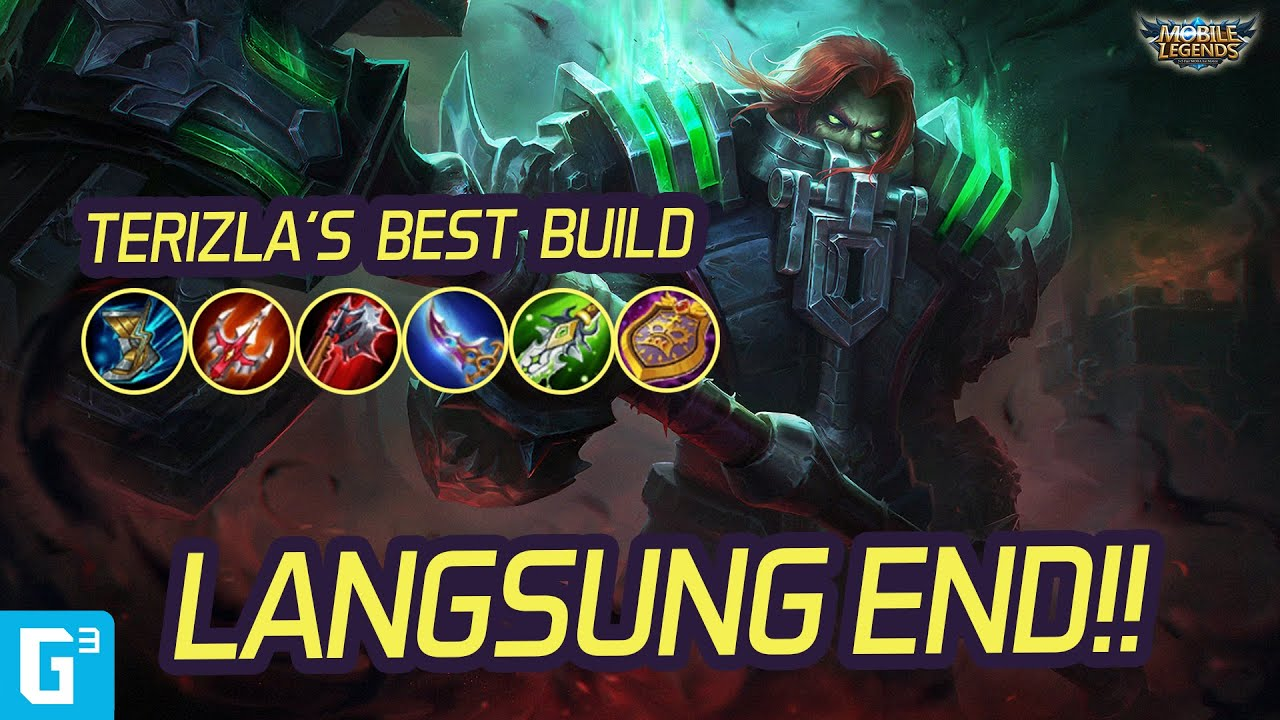 Terizla Instant Kill Build Item Guide Mobile Legends Youtube