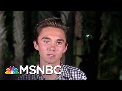 Parkland Student David Hogg Responds To Attacks, Boycott   The Last Word   MSNBC