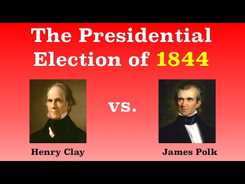 The American Presidential Election of 1844