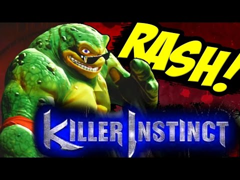 KILLER INSTINCT: BATTLETOADS RASH Gameplay All Combos Special Moves