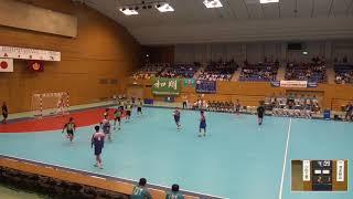 2019年IH ハンドボール 男子 1回戦 小松工業(石川)VS 清水桜が丘(静岡)