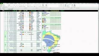 Video Excel World Cup 2014 Brazil Match Wall Charts download MP3, 3GP, MP4, WEBM, AVI, FLV Januari 2018