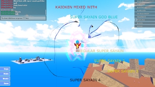Roblox dragon ball rage How to mix kaioken with other forms! [PATCHED]