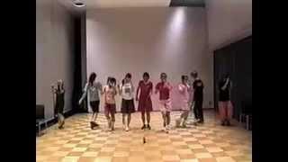 "MorningMusume ""Dekkai Uchu Ni Ai Ga Aru"" Dance Lesson."