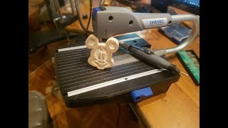 Dremel moto saw and Dremel 4000. The first time I use