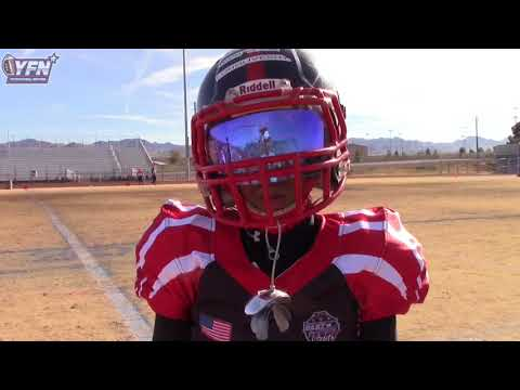 East Vs West Diamond All American Game 4th grade Las Vegas Nevada at Basic High School
