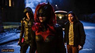 Флэш, Стрела и Супергёрл в лечебнице Аркхема  Первое появление Бэтвумен | Часть 1