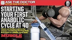 Starting your first anabolic cycle at 40