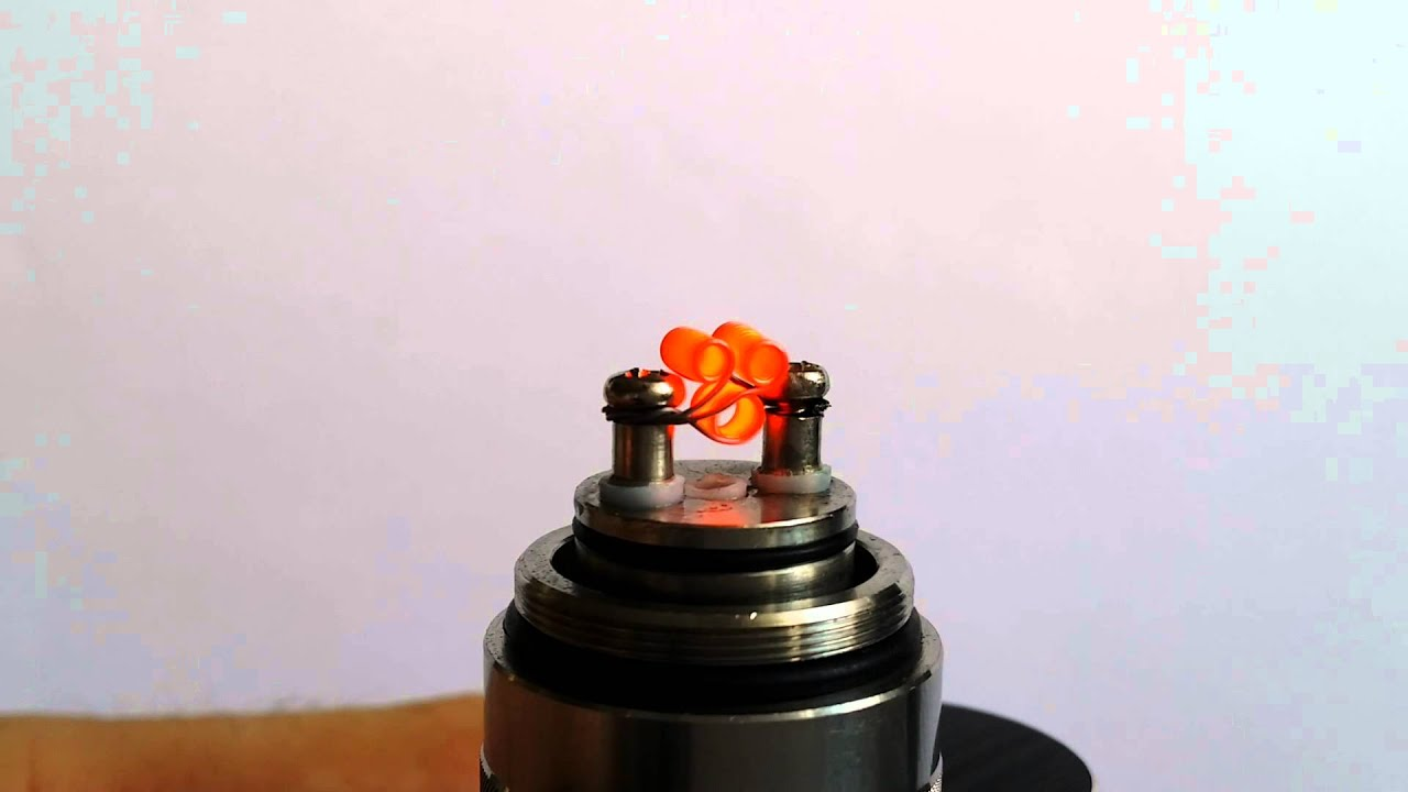 Best Single Coil RDA Build for Squonking on Mech Mods