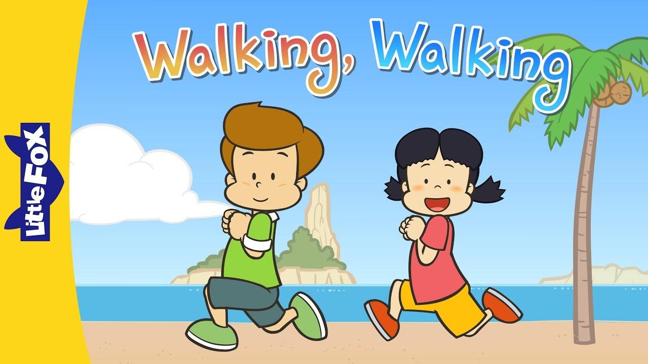 Walking, Walking   Nursery Rhymes   Action   Little Fox