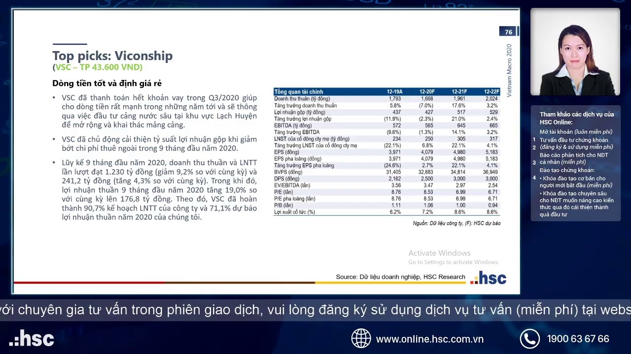 Sector review Phần 3
