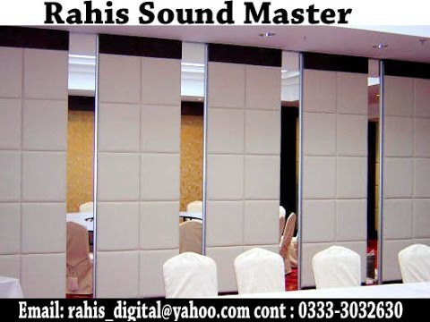 Sliding Partition Doors With Sound Proof