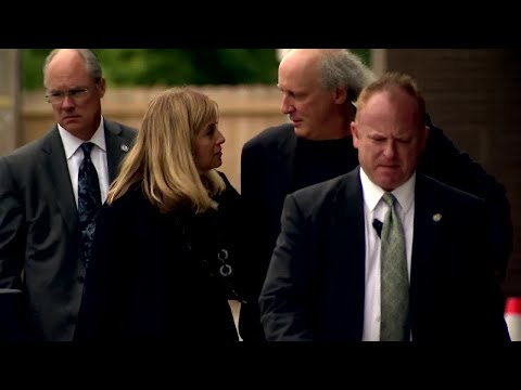 Mayor Barry Leaves Belcourt Theatre After Sons Memorial Service