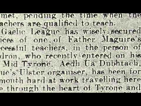 Folk Song in County Tyrone, 1910