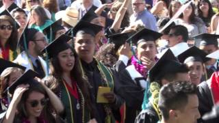 College of Letters, Arts, and Social Sciences Commencement 2016