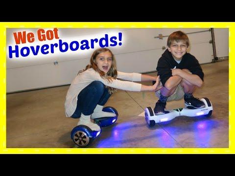 KIDS ON HOVERBOARDS