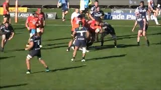Kazuki Himeno double get up and go carries vs Brumbies Runners 2019
