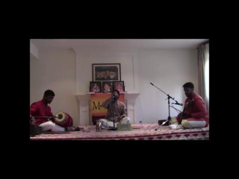 Maduradhvani Toronto 2017  series - Concert # 2 by Chi Sumant Ananthram Feb 27, 2017