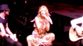 Delta Goodrem - That's Freedom John Farnham Cover 9/1/09 BA Tour thumbnail