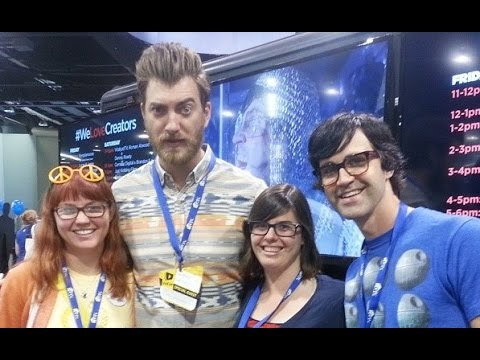 Rhett and Link saw our audition video! VidCon Day 2. 6-28-14