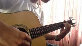 Đồng Thoại (Tong Hua) fingerstyle ( guitar solo ) by V2H Vũ