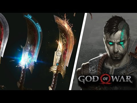 GOD OF WAR 5: HERITAGE - REVEALS ADULT ATREUS, BLADES OF VALHALA | NEW GOD OF WAR FAN ART