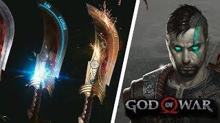GOD OF WAR 5: HERITAGE - REVEALS ADULT ATREUS, BLADES OF VALHALA   NEW GOD OF WAR FAN ART