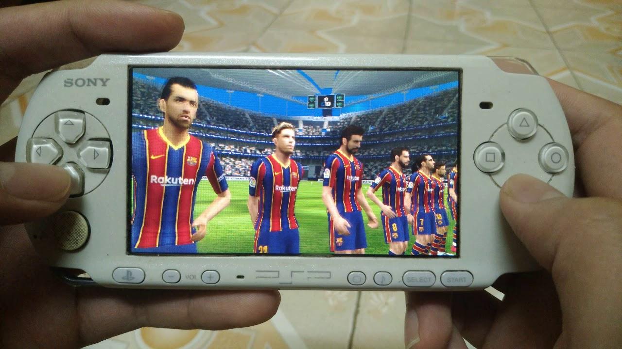 pes 2021 english on playstation portable 3000 ( psp 3000 )