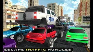 Elevated Police Car : LA Police Car Chase - Android Gameplay - Free Car Games To Play Now