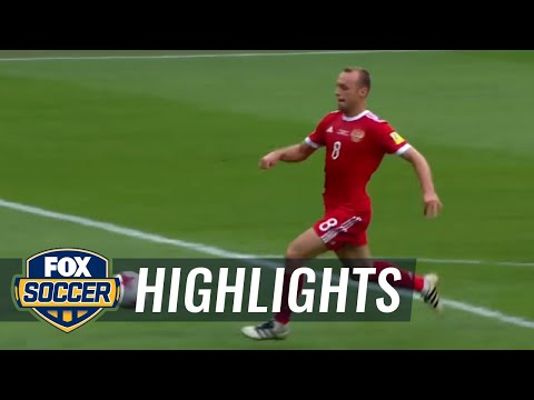 Russia gets the opening goal vs. New Zealand | 2017 FIFA Confederations Cup Highlights