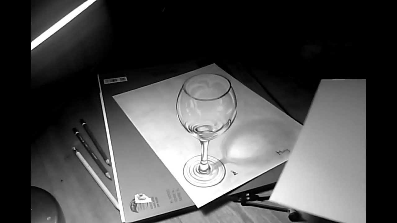 Anamorfosis de La Copa dibujado en 3D  YouTube