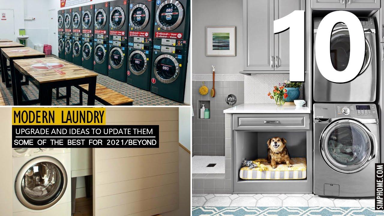 20 Modern Laundry Room Ideas